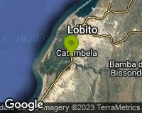 Catumbela - Mapa da área