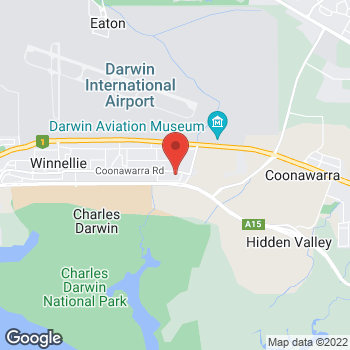 Map of O'Brien Electrical Winnellie at 158 Coonawarra Rd, Winnellie, NT 0820