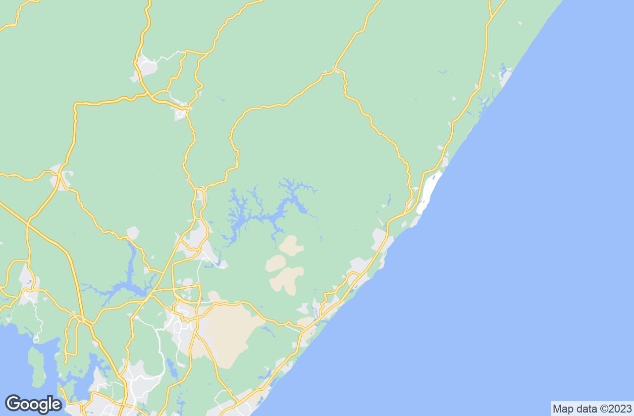 Google Map of ماتا دي ساو جواو