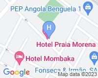 Hotel Praia Morena - Mapa da área