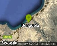 Benguela - Mapa da área