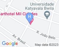 Aparthotel Mil Cidades - Mapa da área