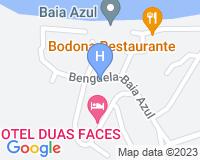 Hotel Duas Faces - Mapa da área