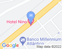 Hotel Nino - Area map