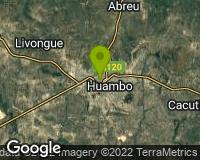 Huambo - Area map