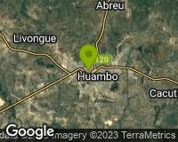 Huambo - Mapa da área