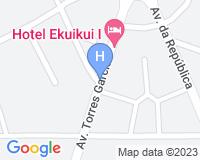 Hotel Ekuikui I - Mapa da área