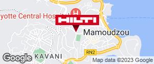 Get directions to Espace Hilti - Dom-Tom CANANGA S.A - Mamoudzou / Mayotte