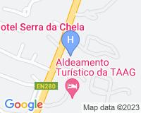 Hotel Serra da Chela - Mapa da área