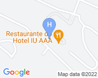 Iu Hotel Lubango - Mapa da área