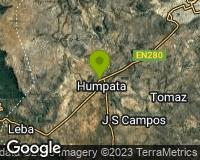 Humpata - Mapa da área