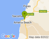 Namibe - Area map