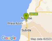 Namibe - Mapa da área