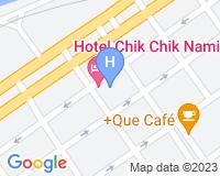 Hotel Chik Chik Namibe - Mapa da área