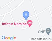 Hotel Infotur Namibe - Mapa da área