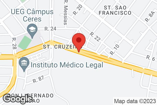 Av. Dr. Bernardo Sayão, 1037 Centro, Ceres, GO
