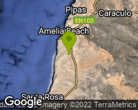Deserto Namibe - Mapa da área