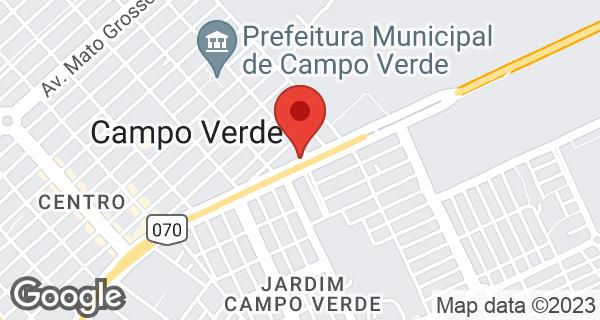 Av. Brasilia, 2929 Bairro Campo Real II, Campo Verde, MT