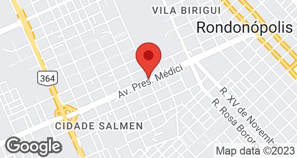 Av. Presidente Médici, 3821 Bairro Cidade Salmen, Rondonópolis, MT