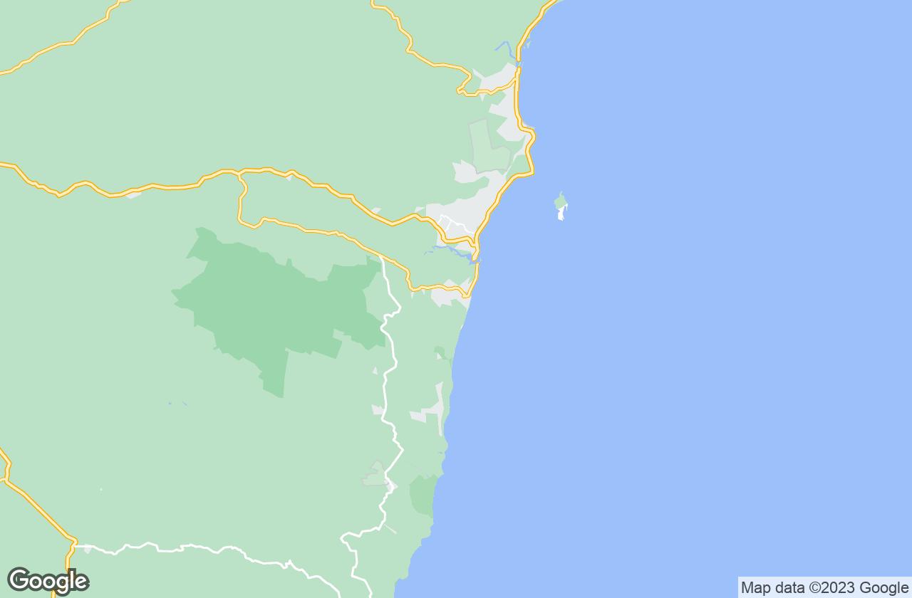 Google Map of أرايال دي اجودا