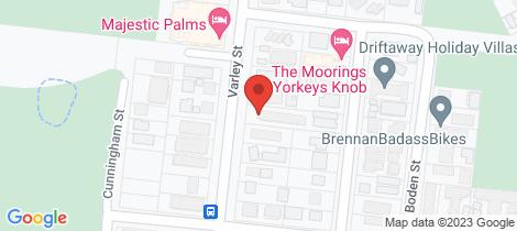 Location map for 5/538 Varley Street Yorkeys Knob