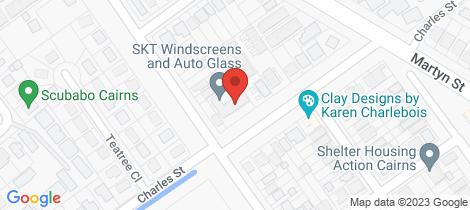 Location map for 5/68-72 Charles Street Manunda