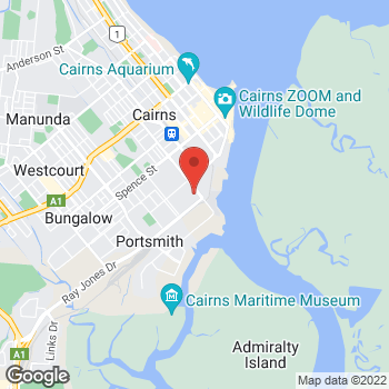 Map of O'Brien Electrical Cairns Central at 2/107 Draper St, Portsmith, QLD 4870