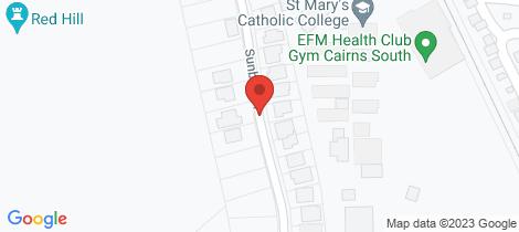 Location map for 18 Sunbird Drive Woree