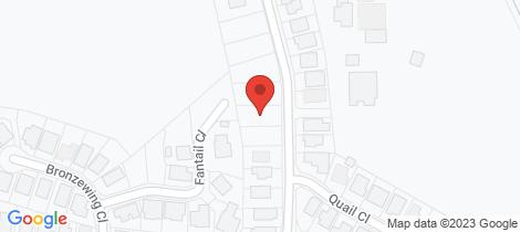 Location map for 36 Sunbird Drive Woree