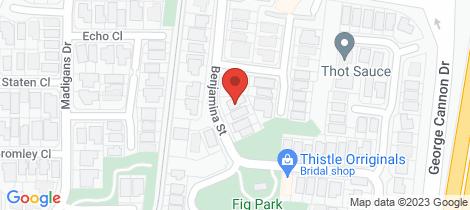 Location map for 104 Benjamina Street Mount Sheridan