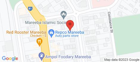 Location map for 2/112 walsh Mareeba