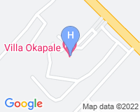 Vila Okapale - Area map