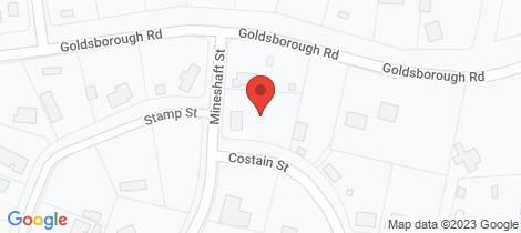 Location map for 5-7 Mineshaft St Goldsborough