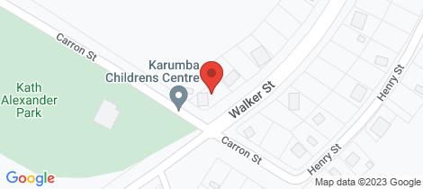 Location map for 100 Carron Street Karumba