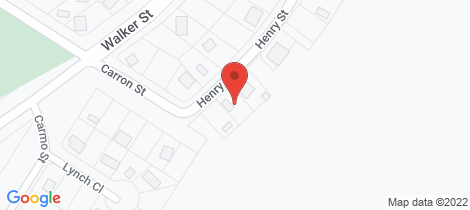 Location map for 55 Henry Street Karumba