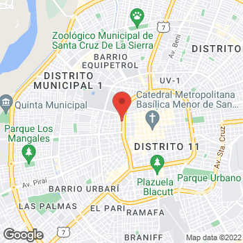 Map of Salvatore Ferragamo at Av. Cañoto #176, Santa Cruz, Santa Cruz