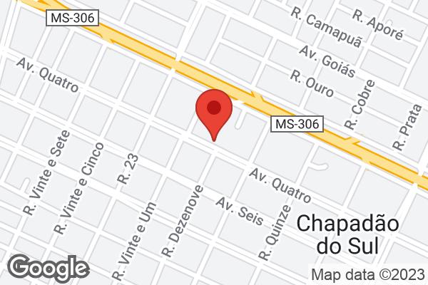 Avenida Quatro, 742 Bairro Centro, Chapadão do Sul, MS