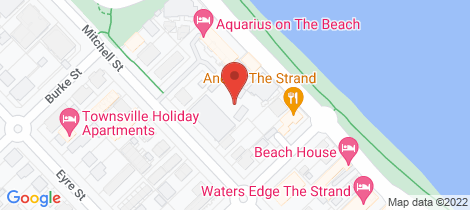Location map for 72/304 Watermark Townsville City