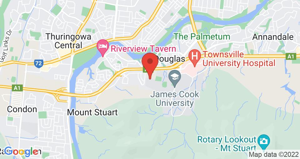 Google Map of UniLodge JCU Halls of Residence – George Roberts Hall
