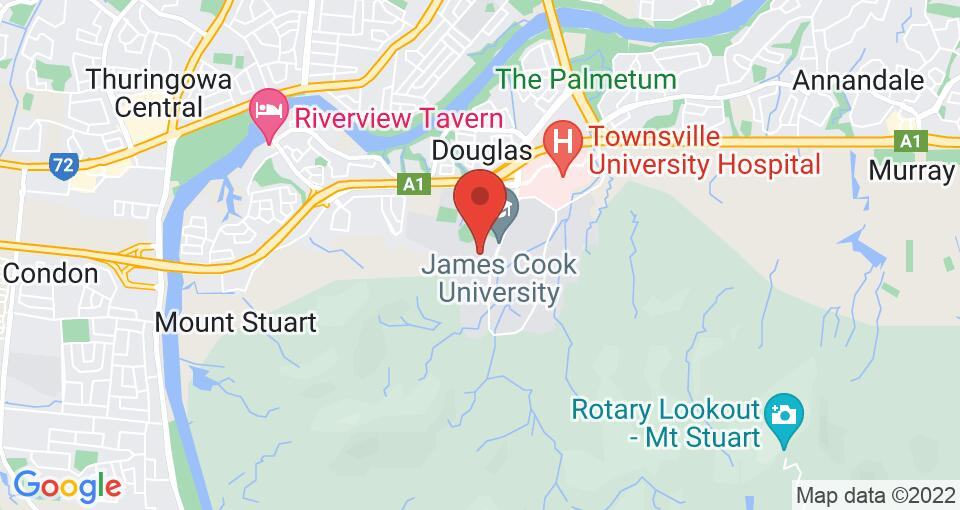 Google Map of UniLodge JCU Halls of Residence – University Hall