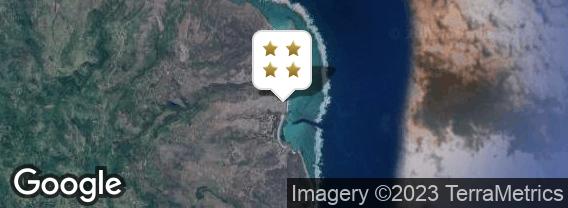 Localisation de l'hôtel Tekoma Boutik Rodrigues