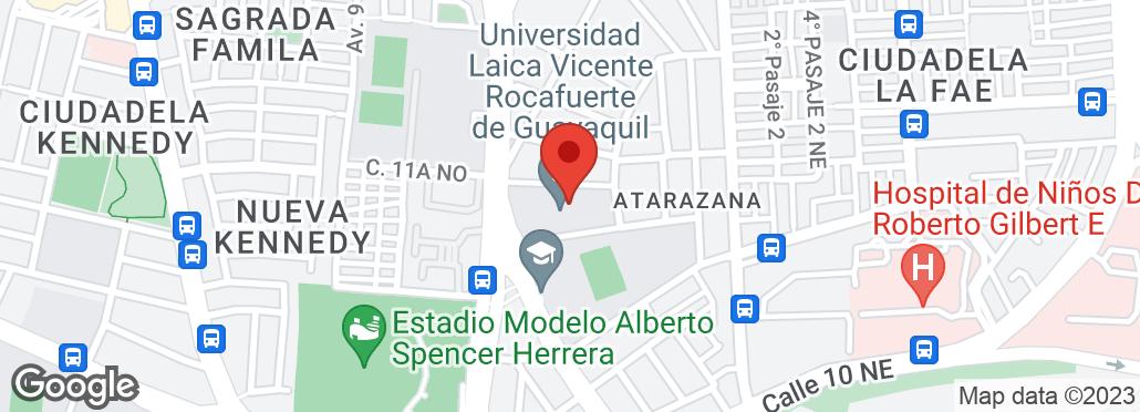 Av de las Americas y Blanca muñoz, junto a la U. Laica, Guayaquil, Guayas
