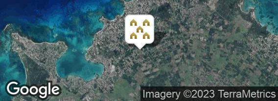 Localisation de la villa Les villas Oasis
