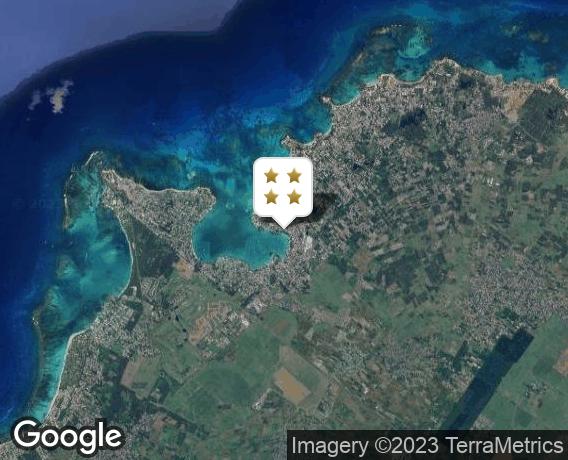Localisation de l'hôtel Mauricia Beachcomber Resort & Spa
