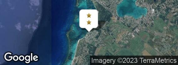 Localisation de l'hôtel Coral Azur Beach Resort