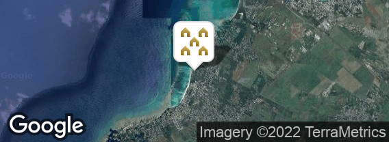 Localisation de la villa Les Villas du Trou aux Biches