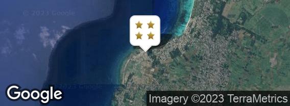 Localisation de l'hôtel Veranda Pointe aux Biches