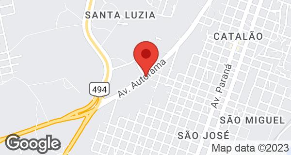 Av. Autorama, 1200 Bairro Santa Luzia, Divinópolis, MG