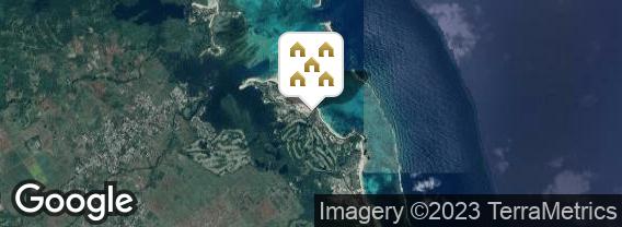 Localisation de la villa Les Villas du Belle Mare