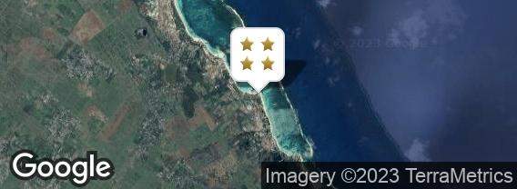 Localisation de l'hôtel La Palmeraie
